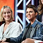 Rachel Skarsten and Ruby Rose at an event for Batwoman (2019)