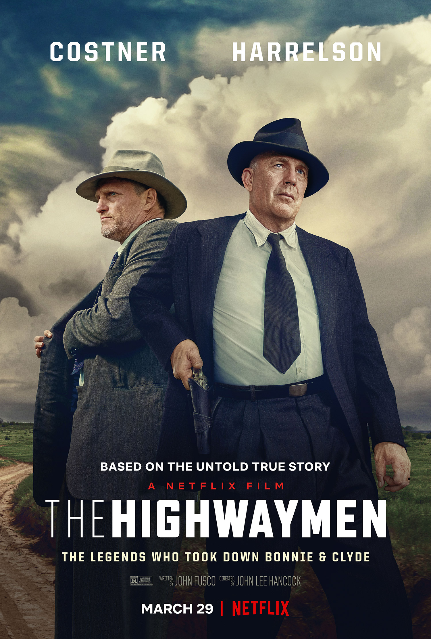 Image result for costner the highwaymen