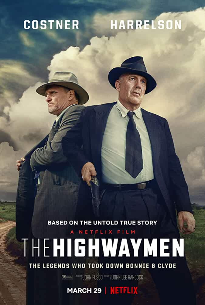 Kevin Costner and Woody Harrelson in The Highwaymen (2019)