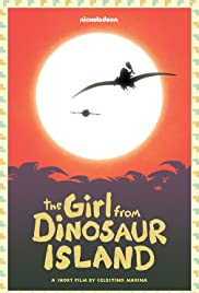 The Girl from Dinosaur Island Poster