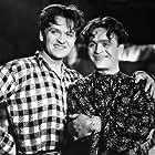 Eugeniusz Bodo and Adolf Dymsza in Pawel i Gawel (1938)