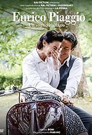 Enrico Piaggio - Vespa Poster