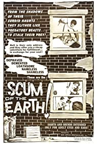 Scum of the Earth (1963) Poster - Movie Forum, Cast, Reviews