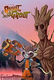 Rocket & Groot Poster