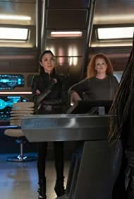 Michelle Yeoh, Anthony Rapp, Sonequa Martin-Green, and Mary Wiseman in People of Earth (2020)