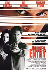 Unlawful Entry (1992) Poster - Movie Forum, Cast, Reviews