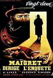 Maigret dirige l'enquête Poster