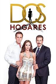 Carlos Ponce, Anahí, and Sergio Goyri in Dos hogares (2011)