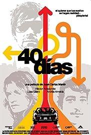 40 días Poster