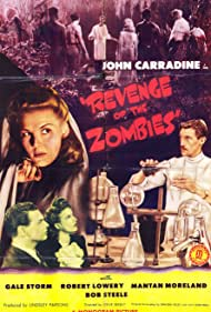 John Carradine, Veda Ann Borg, Robert Lowery, and Gale Storm in Revenge of the Zombies (1943)