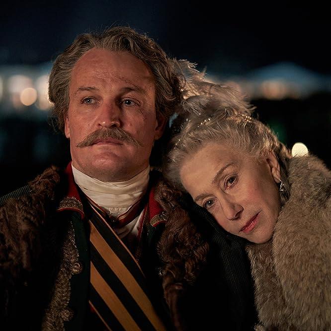 Helen Mirren and Jason Clarke in Catherine the Great (2019)