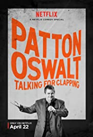 Patton Oswalt: Talking for Clapping Poster