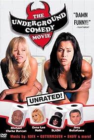 Michael Clarke Duncan, Gena Lee Nolin, Joey Buttafuoco, Rebekah Chaney, Slash, and Barbara Snellenburg in The Underground Comedy Movie (1999)