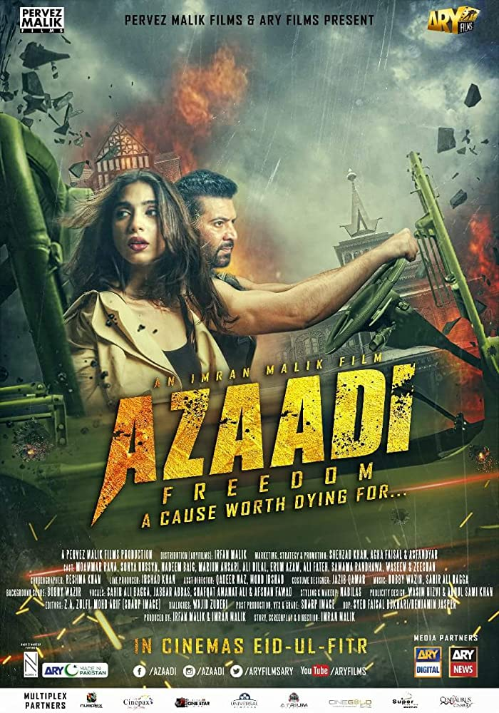Azaadi (2018) Full Urdu Movie 400MB SDTV 480p Free Download