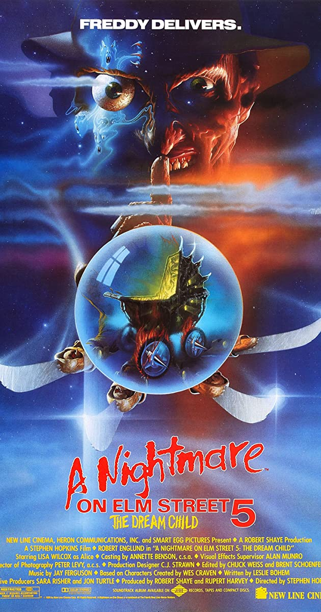 Subtitle of A Nightmare on Elm Street 5: The Dream Child