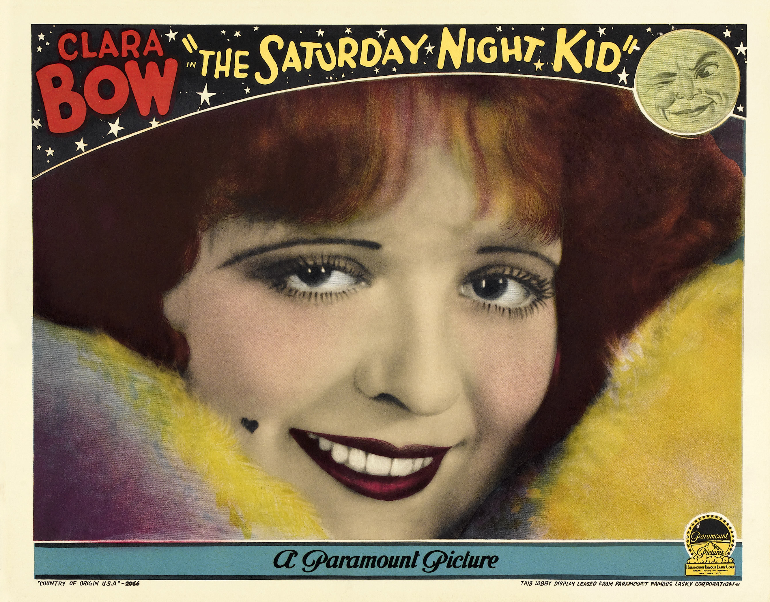 Clara Bow in The Saturday Night Kid (1929)
