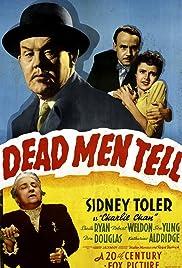 Dead Men Tell(1941) Poster - Movie Forum, Cast, Reviews