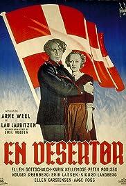 En desertør Poster