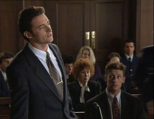 Hugh Jackman (L) & Morgan Smallbone (R) in Blue Heelers, 1995