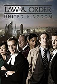 Jamie Bamber, Robert Glenister, Bradley Walsh, and Freema Agyeman in Law & Order: UK (2009)