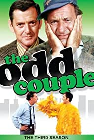 Jack Klugman and Tony Randall in The Odd Couple (1970)