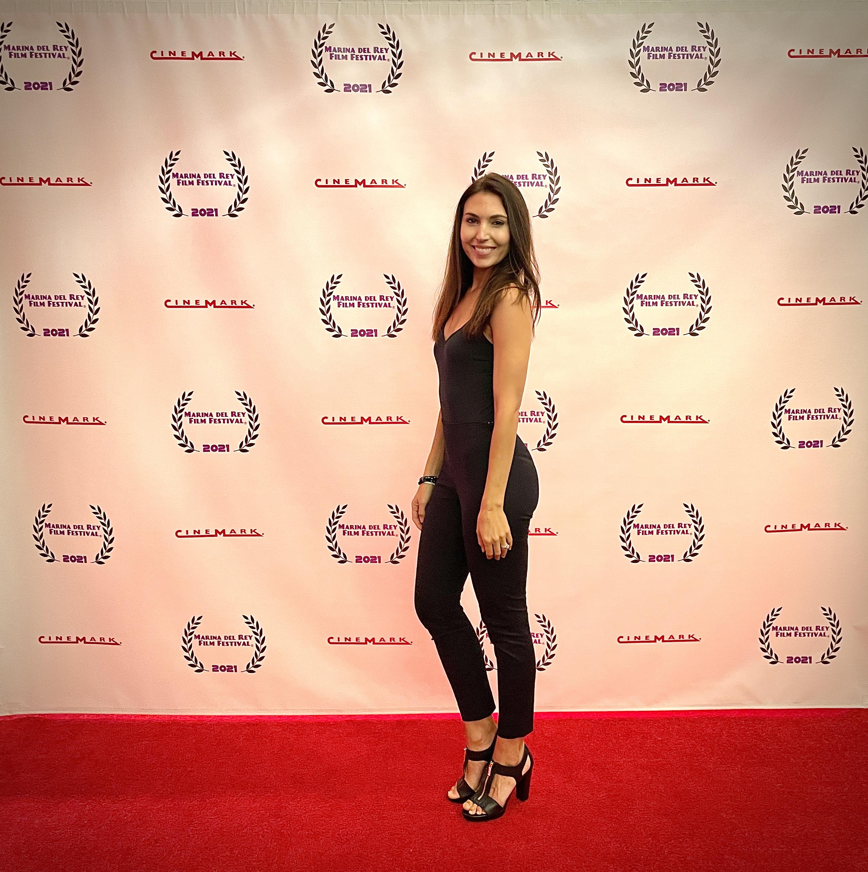 Liesel attends Marina Del Rey Film Festival