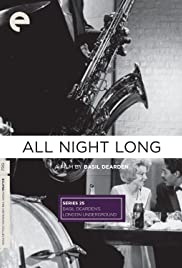 All Night Long (1962) Poster - Movie Forum, Cast, Reviews