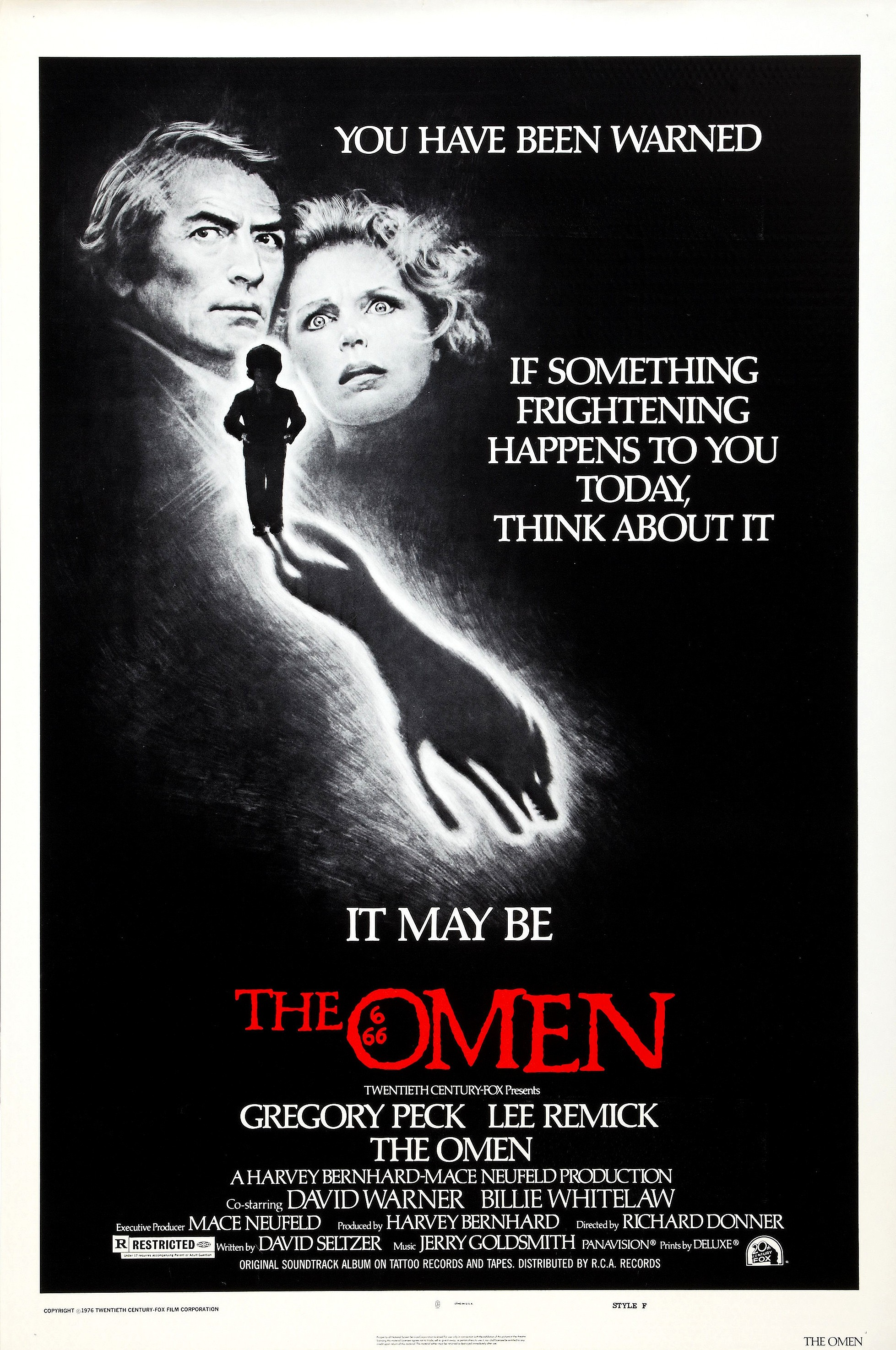 Image result for the omen movie poster