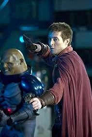 Dan Starkey and Arthur Darvill in Doctor Who (2005)