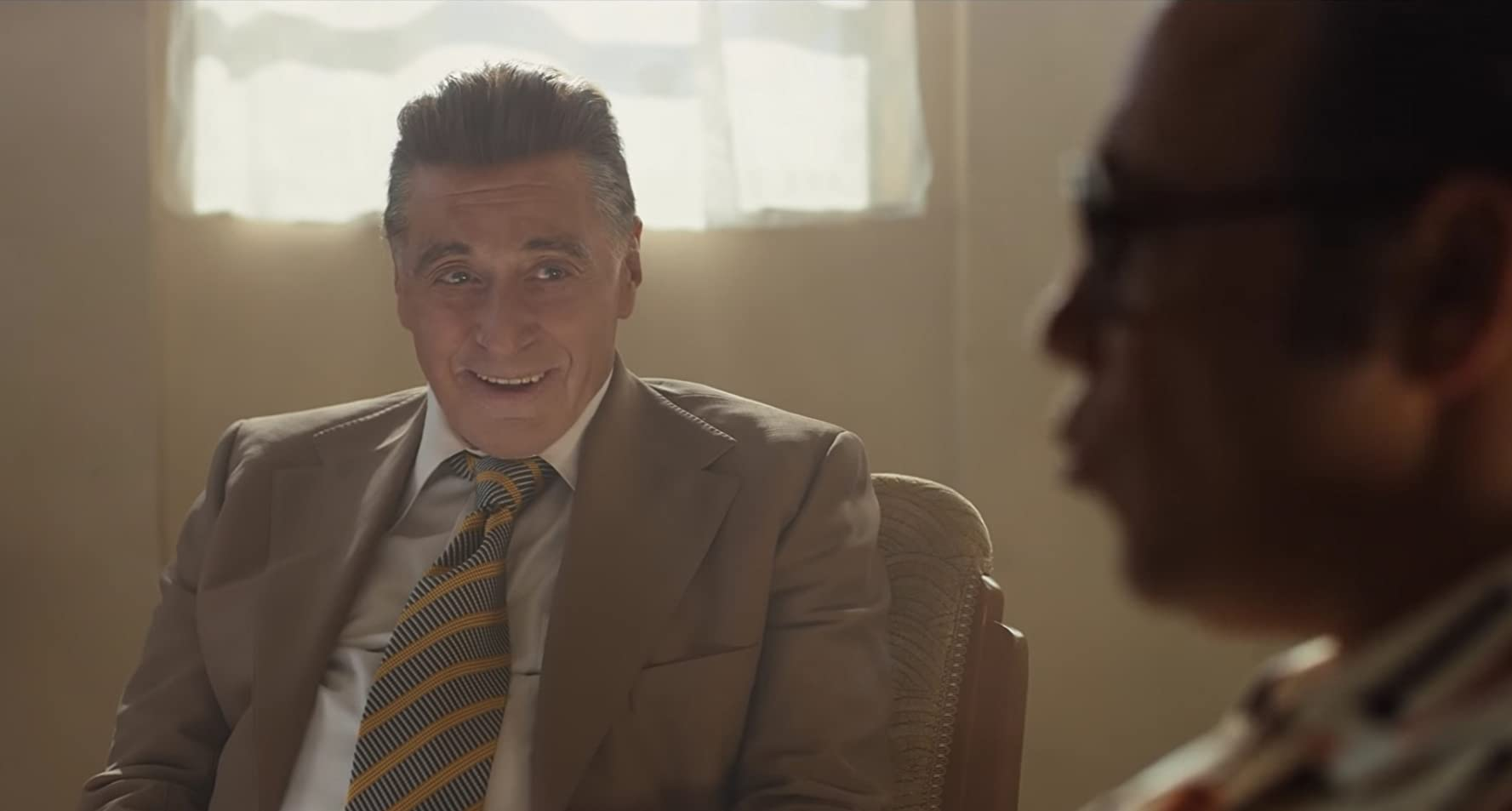 Al Pacino and Stephen Graham in The Irishman (2019)