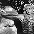 Buddy Baer and Irish McCalla in Sheena: Queen of the Jungle (1955)