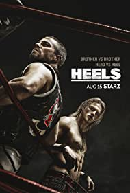 Alexander Ludwig and Stephen Amell in Heels (2021)