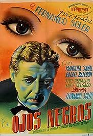 Ojos negros Poster