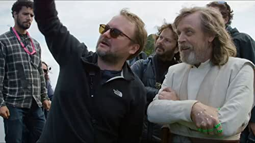 Get a sneak preview of 'The Director and The Jedi,' Anthony Wonke's film documenting Rian Johnson's process coming in as a director new to the Star Wars universe.