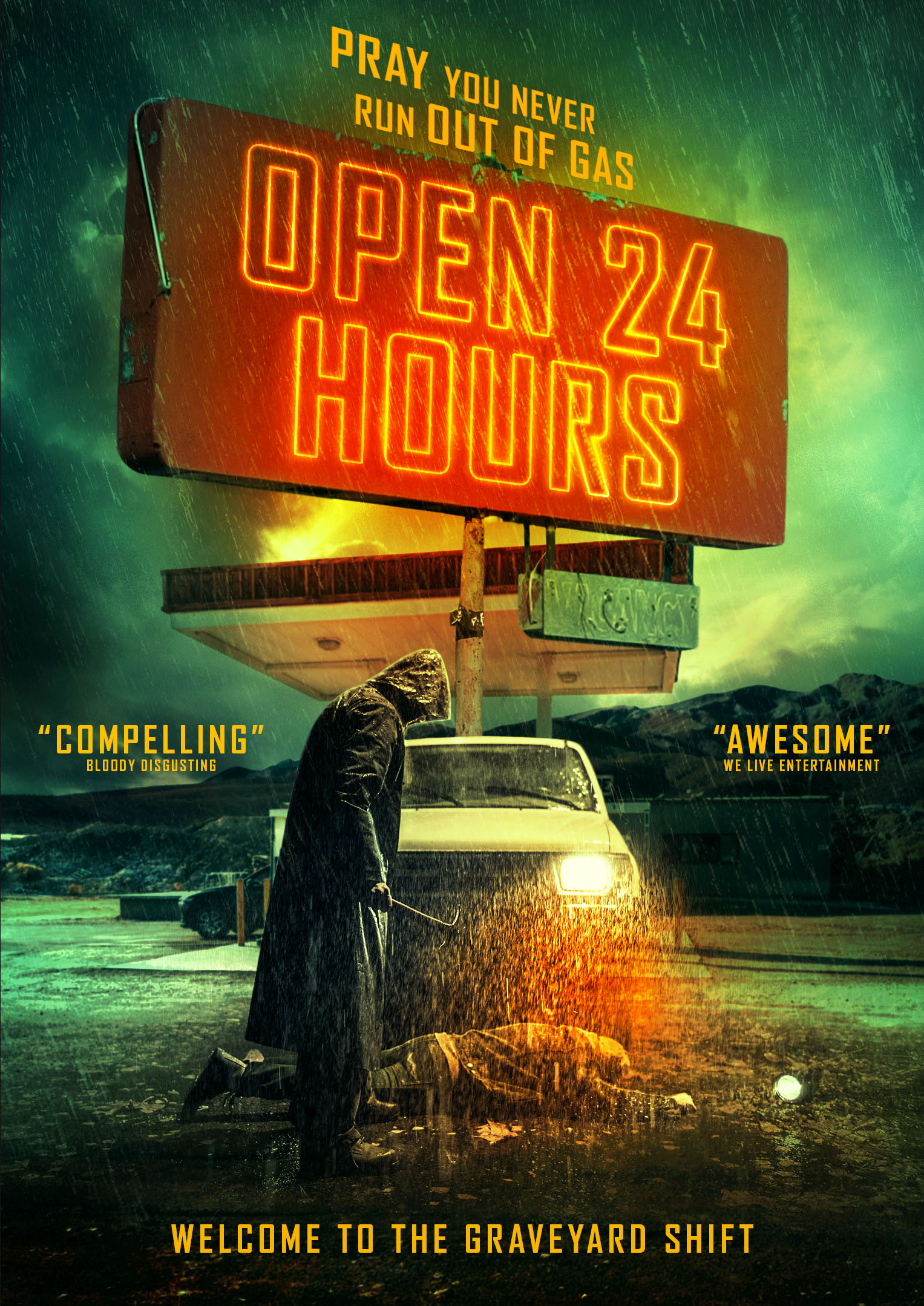 Alternate poster for OPEN 24 HOURS