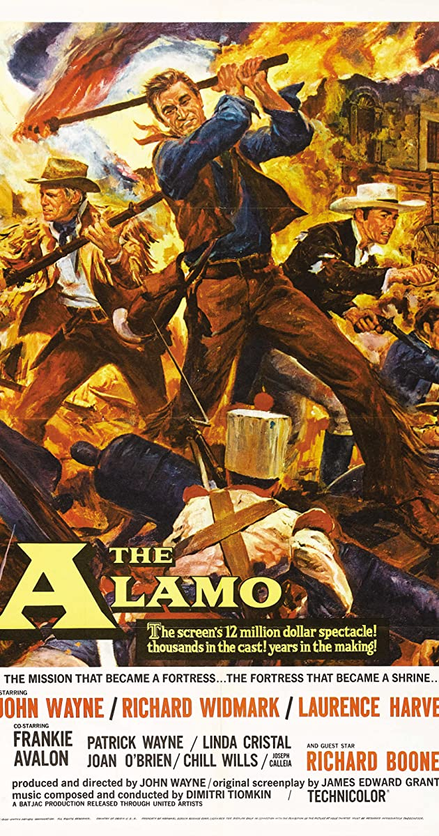 Subtitle of The Alamo