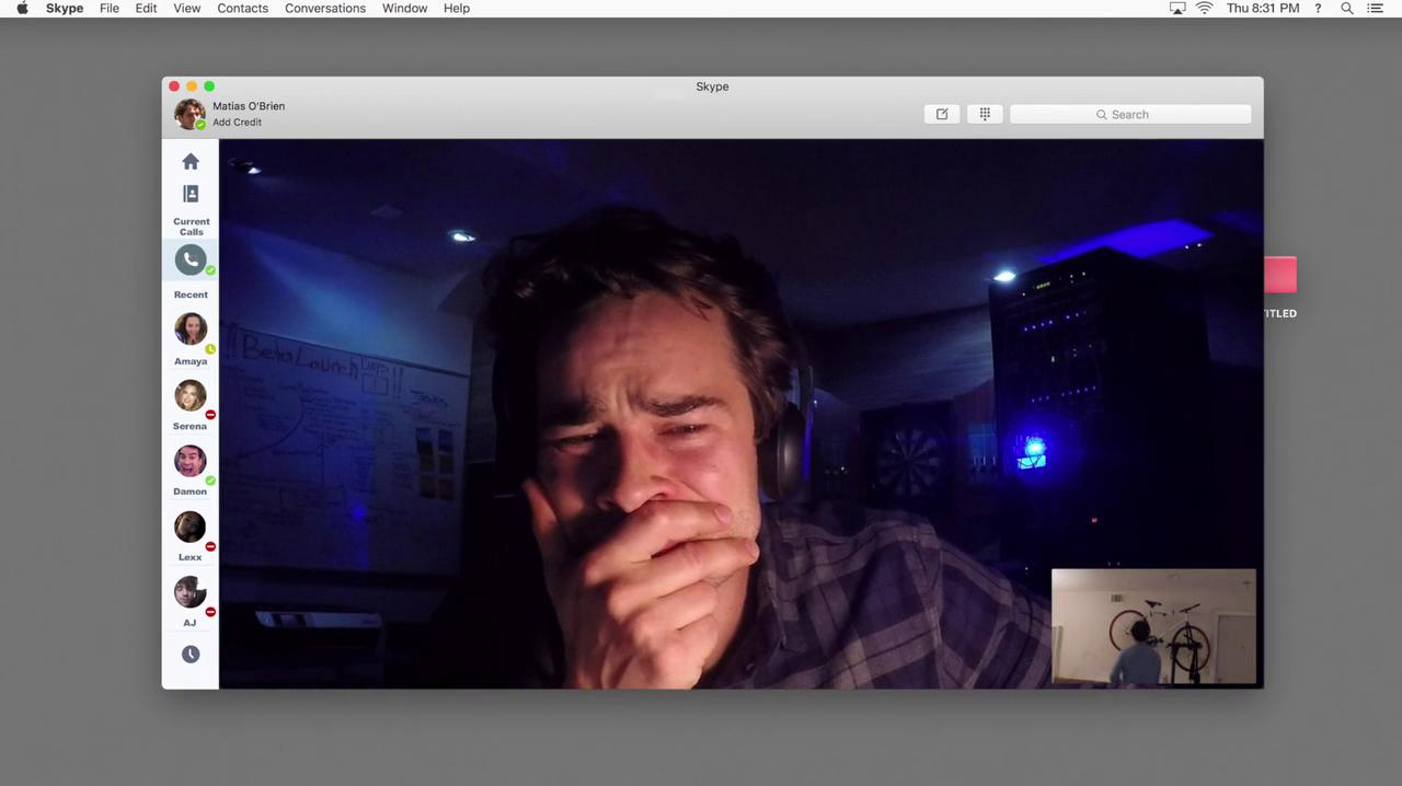 Andrew Lees and Colin Woodell in Unfriended: Dark Web (2018)