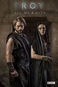 Louis Hunter and Bella Dayne in Troy: Fall of a City (2018)