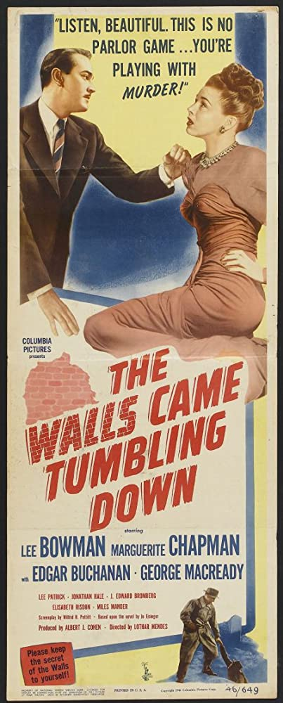 Lee Bowman and Marguerite Chapman in The Walls Came Tumbling Down (1946)