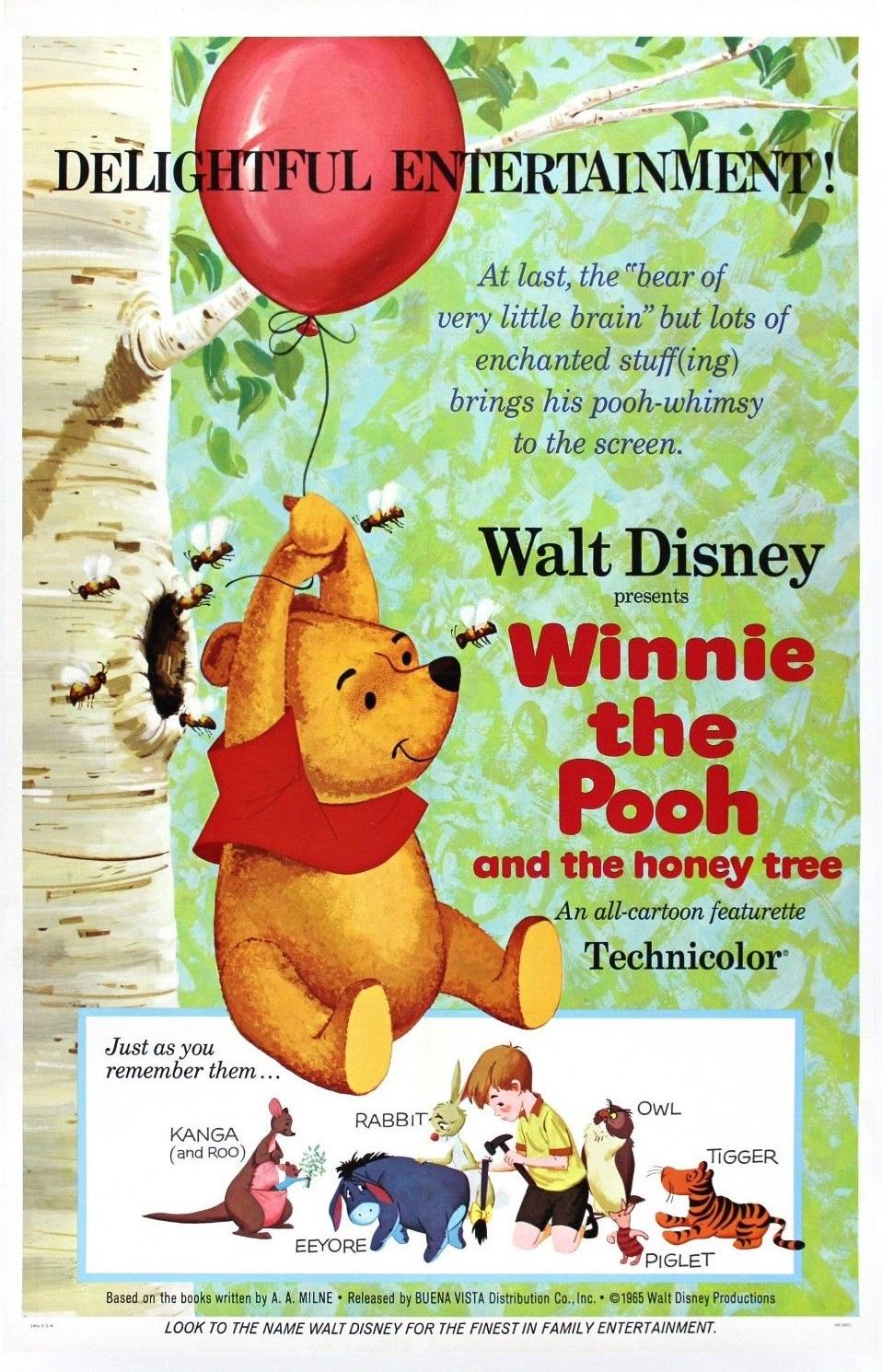Winnie The Pooh And The Honey Tree 1966 Imdb