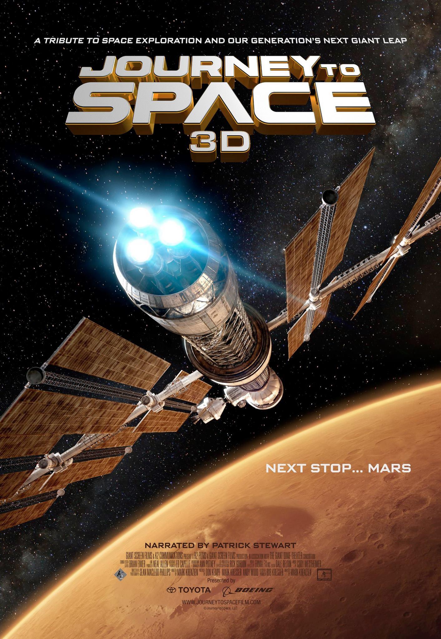KELIONĖ Į KOSMOSĄ (2015) / JOURNEY TO SPACE