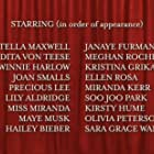 Dita Von Teese, Lily Aldridge, Stella Maxwell, Joan Smalls, Miranda Barrie, Maye Musk, Winnie Harlow, and Precious Lee in Jungle Red (2021)