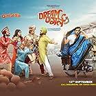 Annu Kapoor, Vijay Raaz, Nushrat Bharucha, Raj Bhansali, Manjot Singh, Abhishek Banerjee, Ayushmann Khurrana, and Nidhi Bisht in Dream Girl (2019)