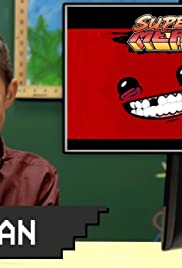 Kids Play Super Meat Boy Poster