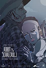 Robot & Scarecrow Poster