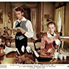 Capucine and Dirk Bogarde in Song Without End (1960)