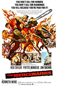 The Mercenaries (1968) Poster - Movie Forum, Cast, Reviews