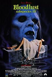 Bloodlust: Subspecies III Poster