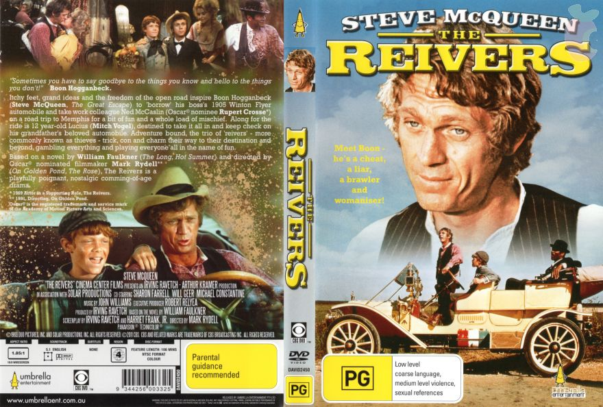 Image result for mcqueen the reivers    title