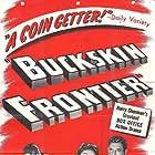 Richard Dix, Victor Jory, and Jane Wyatt in Buckskin Frontier (1943)